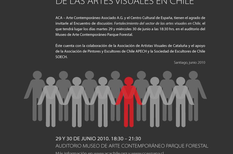 """Encuentro de discusión """"Fortalecimiento del sector de las artes visuales en Chile"""""""