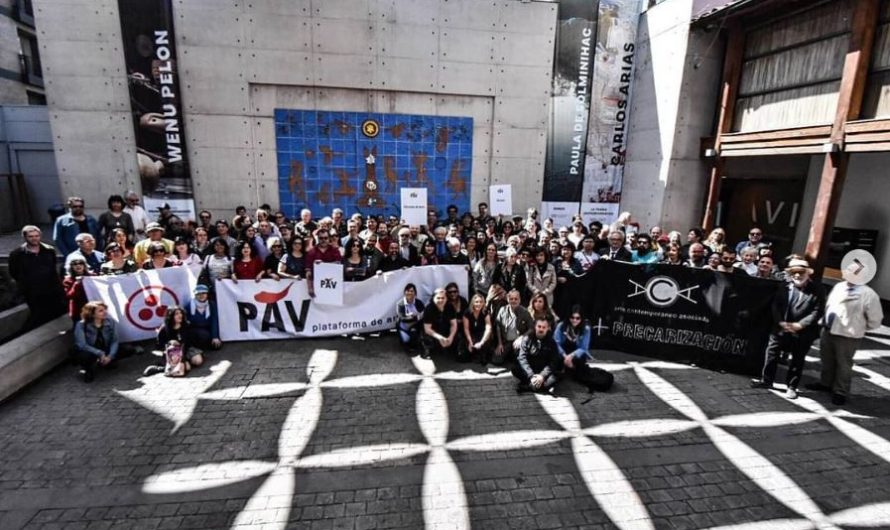 Fundación de la PAV, Plataforma de Artes Visuales