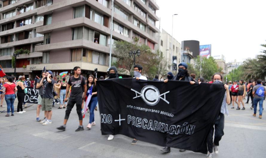 """Acción del 8 de noviembre de 2019 """"No a la precarización"""""""