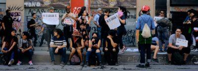 Acción de ACA en la Plaza de la Dignidad 2019