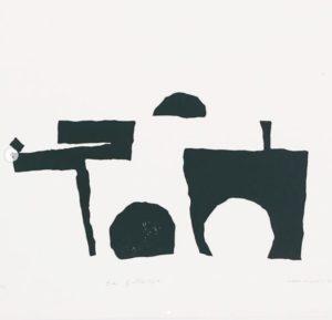 xilografía de Eduardo Vilches, 1965