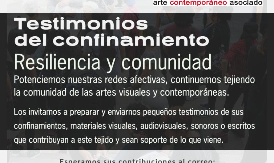 Testimonios del confinamiento / Resiliencia y comunidad