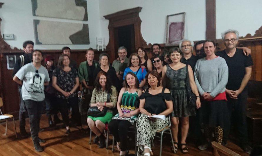 Asamblea abierta de artes visuales Valparaíso 28 de diciembre de 2019