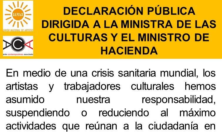 Declaración pública UNA sobre mesa de trabajo con Ministra de las Culturas