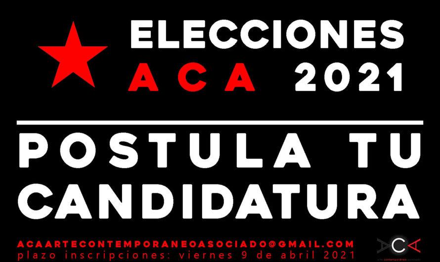 Postula tu candidatura al Directorio ACA 2021