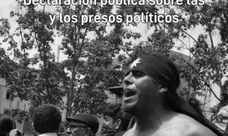 Presos políticos de la revuelta